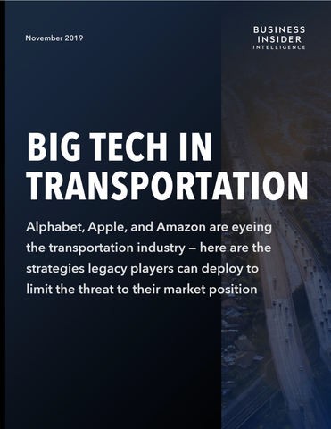 Big Tech in Transportation