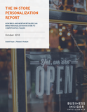 The In-Store Personalization Report