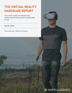 The Virtual Reality Hardware Report