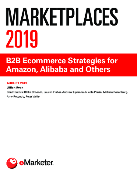 Marketplaces 2019: B2B Ecommerce Strategies for Amazon, Alibaba and Others