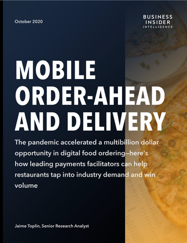 Mobile Order-Ahead and Delivery