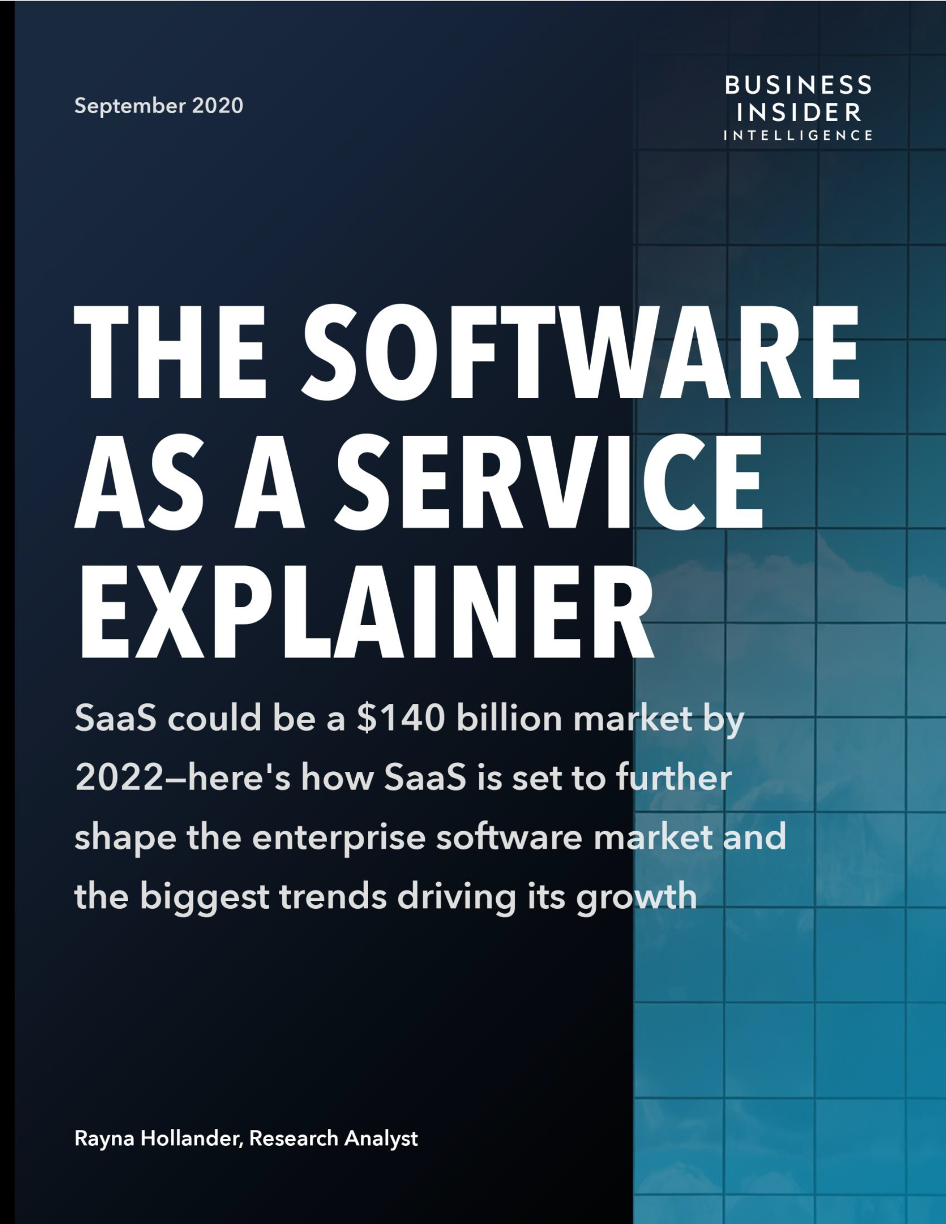 The Software as a Services Explainer