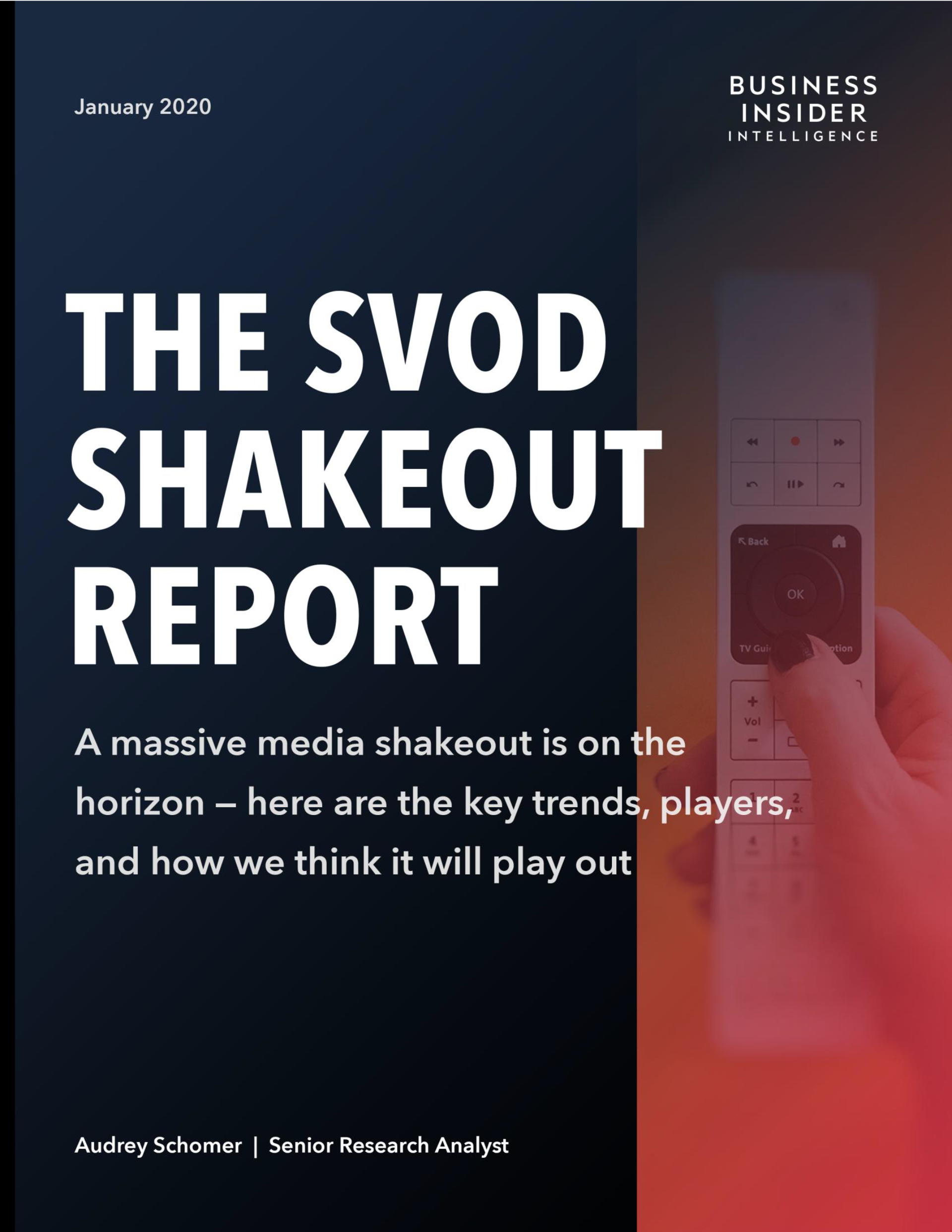 The SVOD Shakeout Report