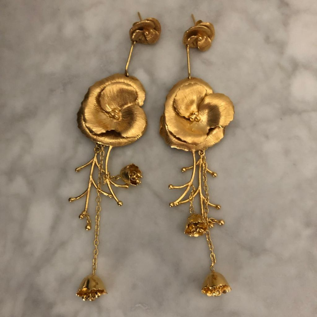Christine Bekaert earrings