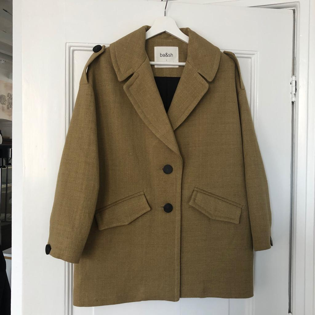 Ba&sh safari oversized coat