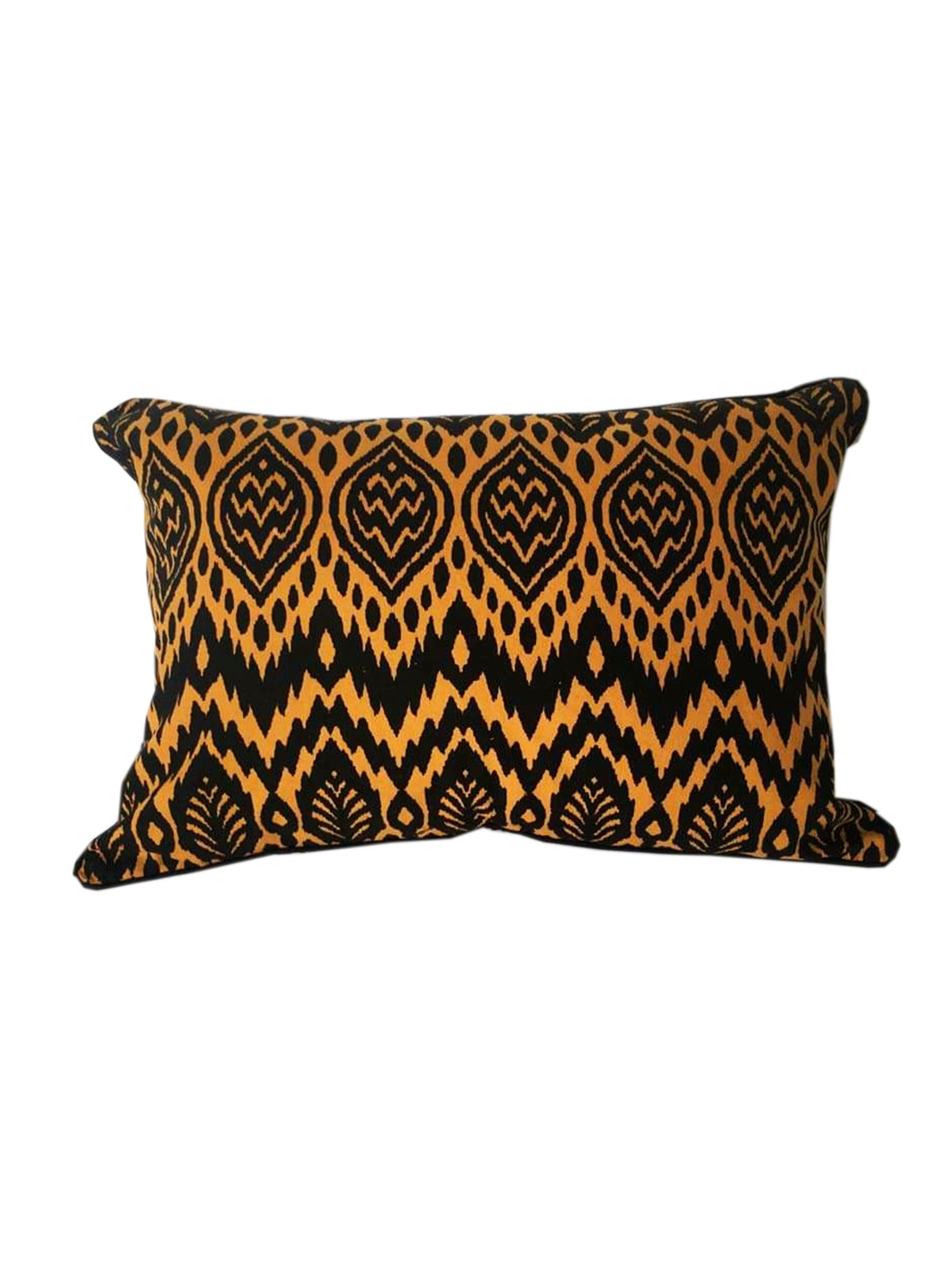 Zambia Black & Gold Cushion 30 x 50 cm