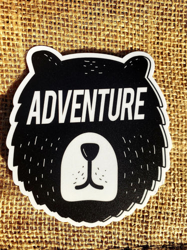 Explore Bear Sticker