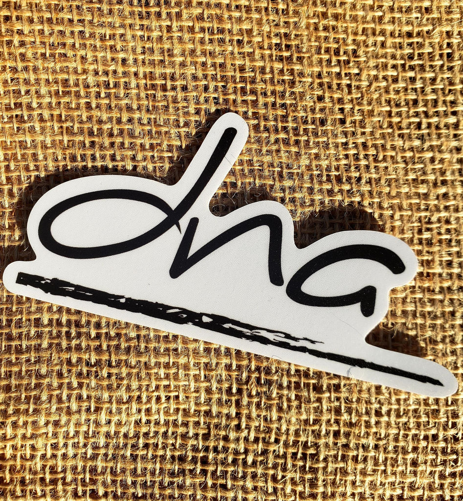 DNA Logo Sticker