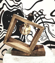 Load image into Gallery viewer, Reclaimed Wood Modern Table Lamp