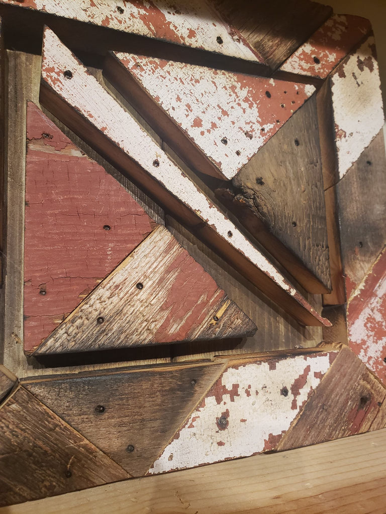 Reclaimed Morris Barn Wood Wall Art