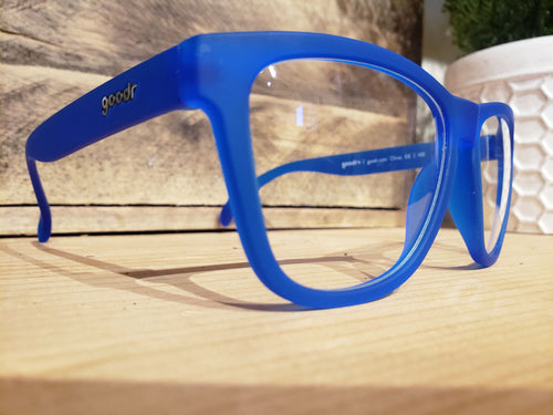 Goodr Sunglasses Original-  Blue Shades of Death