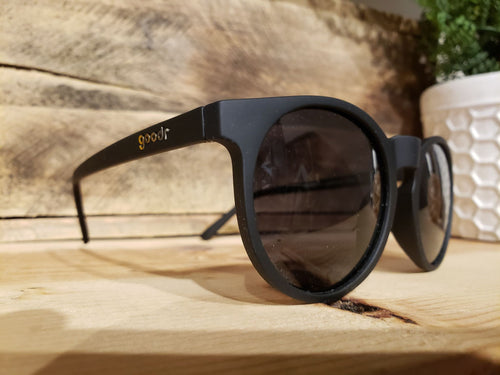 Goodr Sunglasses Circle G's-  It's Not Black It's Obsidian