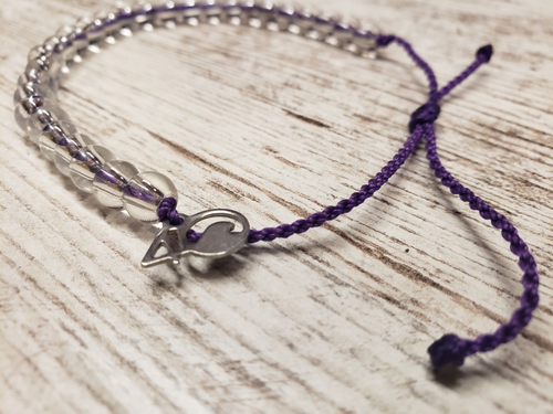 4Ocean Bracelet- Limited Edition Purple