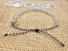 Load image into Gallery viewer, 4Ocean Bracelet Limited Edition- Black White