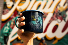 Load image into Gallery viewer, United by Blue 22 oz Enamel Mug