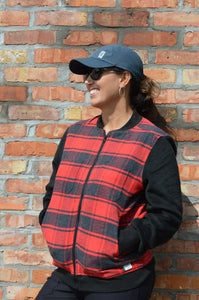 Kavu Women's Oswego Lumberjack Plaid Jacket