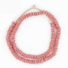 Load image into Gallery viewer, Coral Recycled Glass Styling Beads
