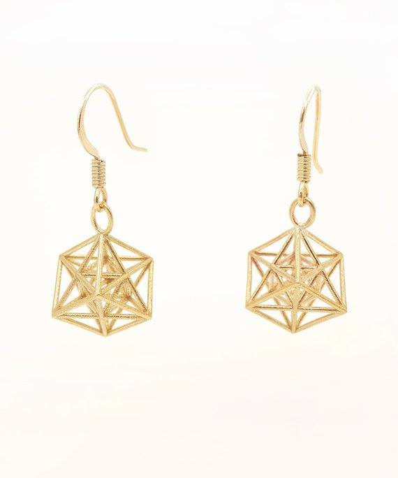 Metatron Earrings