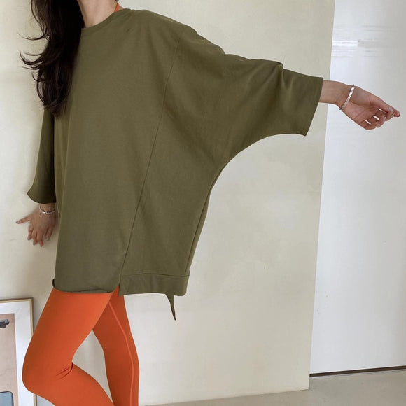 韓國瑜伽服 Easy Long Sleeve Top