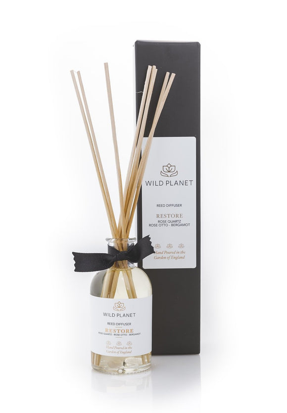 〖 RESTORE 〗 Reed Diffuser with Rose Quartz