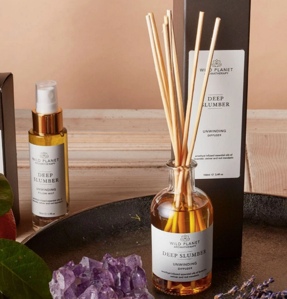 〖 Deep Slumber 〗 Reed Diffuser with Amethyst