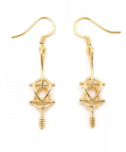 Double Ankh Earrings