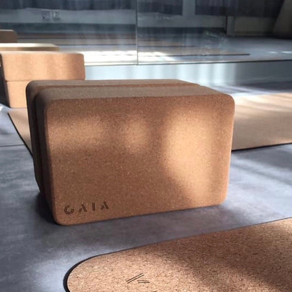 GAIA Eco-friendly Cork Block 環保水松瑜伽磚