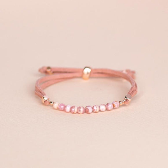 Feelings Collection: Love • Rhodochrosite 寵愛紅紋石擴香手帶