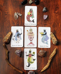 Mermaid Cat Tarot