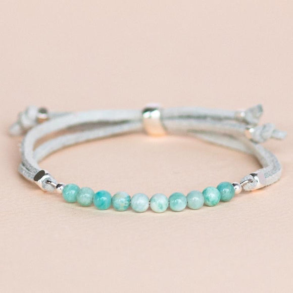 Feelings Collection: Stress • Amazonite⁠ 放鬆天河石擴香手帶