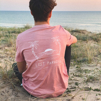 vetements surf salty smile Lost Paradise Tee
