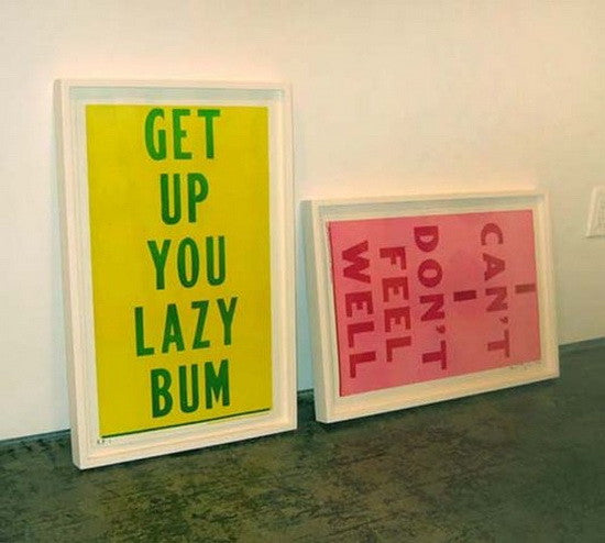 Cary Leibowitz | Get Up You Lazy Bum/I Can't I Don't Feel Well