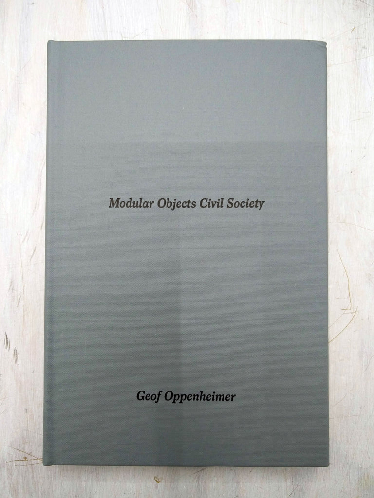 Geof Oppenheimer | Modular Objects Civil Society