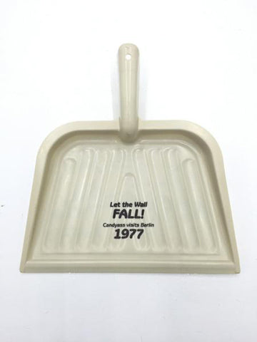 "Cary Leibowitz | ""Let the Wall Fall"" Dustpan"