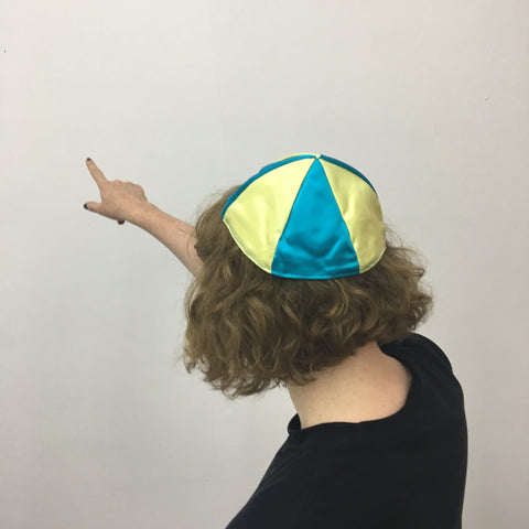 Cary Leibowitz | Swedish Yarmulke (Please Don't Forget Raoul Wallenberg)