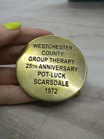 Cary Leibowitz | Westchester County Group Therapy, Belt Buckle