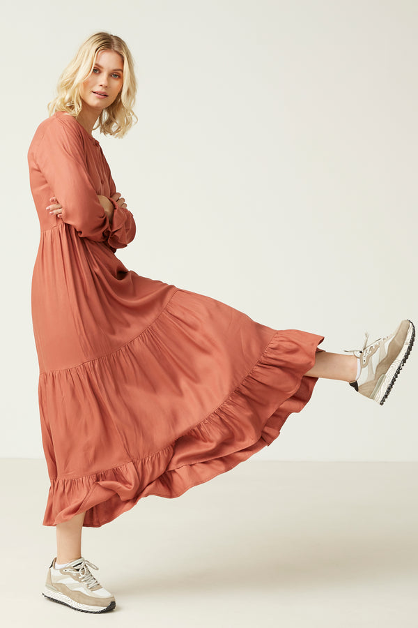 MILK Copenhagen Aya Kjole Dress - Woman Medium Rose