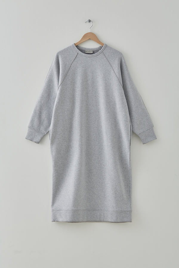 MILK Copenhagen Talana Sweat Dress Dress - Woman Light Grey Melange
