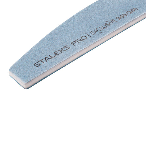 Staleks Mineral Crescent Nail File Exclusive Series