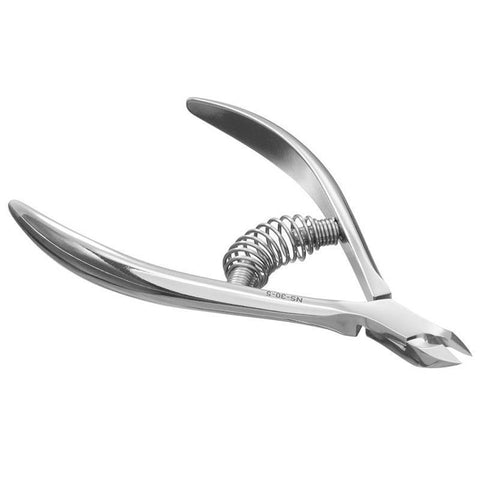 Staleks Pro Smart 30 NS-30-5 Spring Cuticle Nippers 1/2 Jaw 0.2 Inch 5 mm
