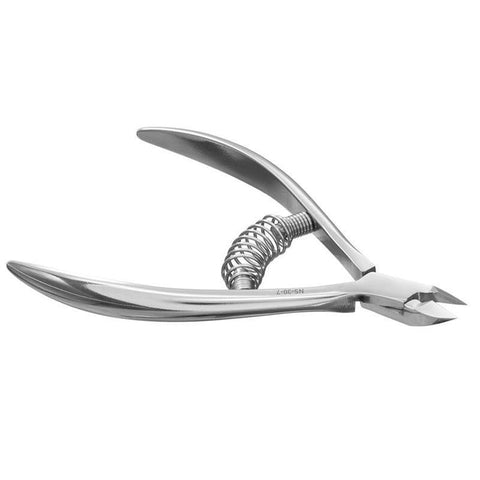 Staleks Pro Smart 30 NS-30-7 Spring Cuticle Nippers Full Jaw 0.27 Inch 7 mm