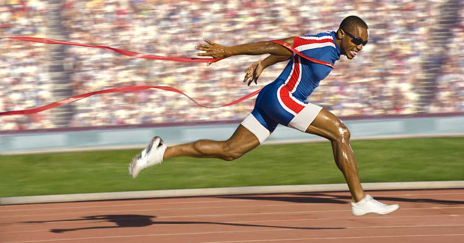 Stride Length vs. Stride Frequency in Reaching Max Speed