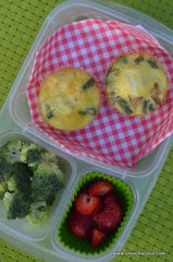 baked asparagus frittata savory muffins lunch