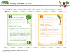 Crunch a Color Healthy Recipes Kids Can Cook