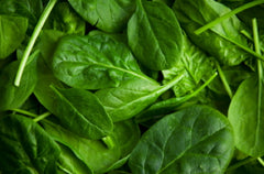 healthy eating spinach