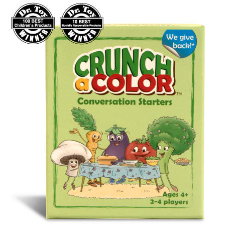 Crunch a Color: Conversation Starters