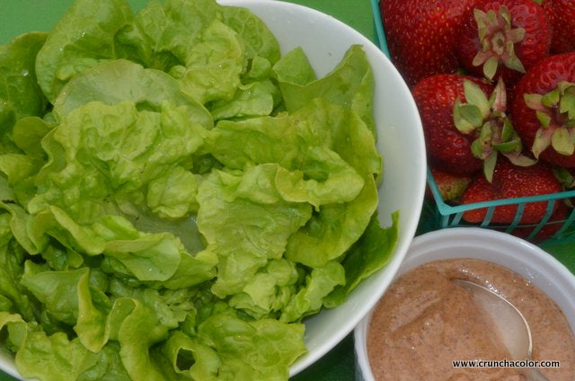 Butter Lettuce with Sunbutter