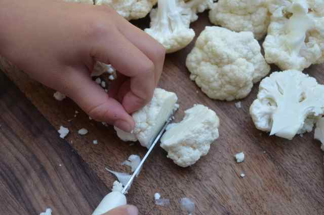 How to prepare cauliflower step 5