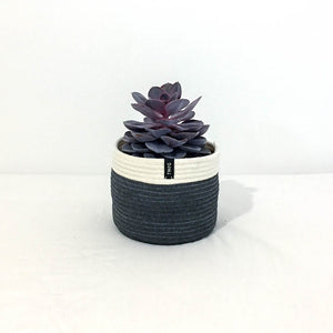 Cotton Pot - Slate