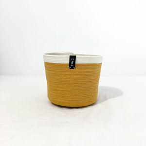 Cotton Pot - Turmeric